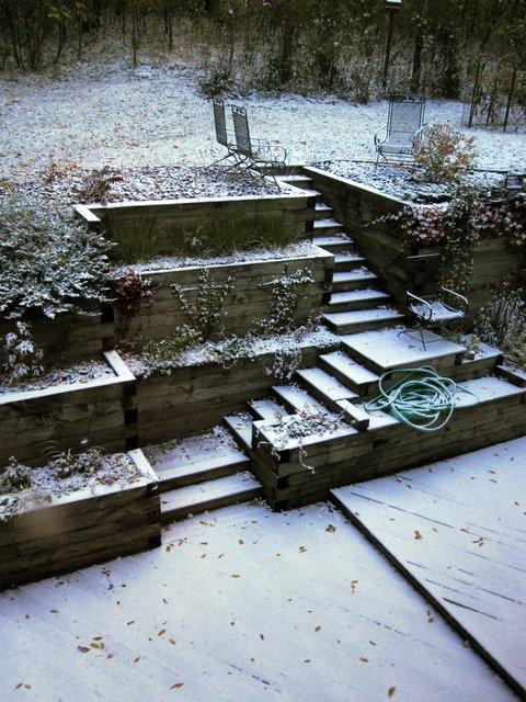 October 10, 2009, snow
