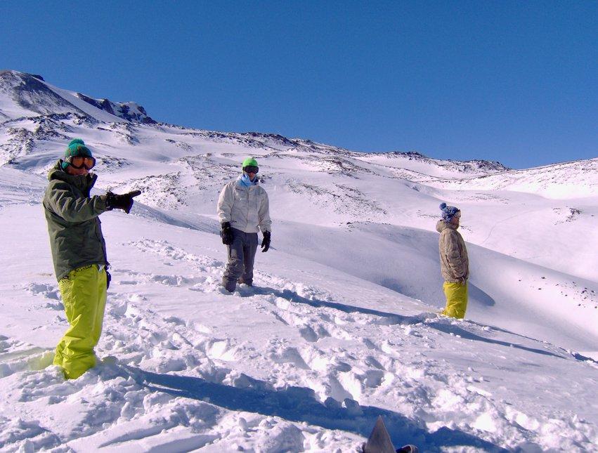 Epic day at Nevados de Chillan