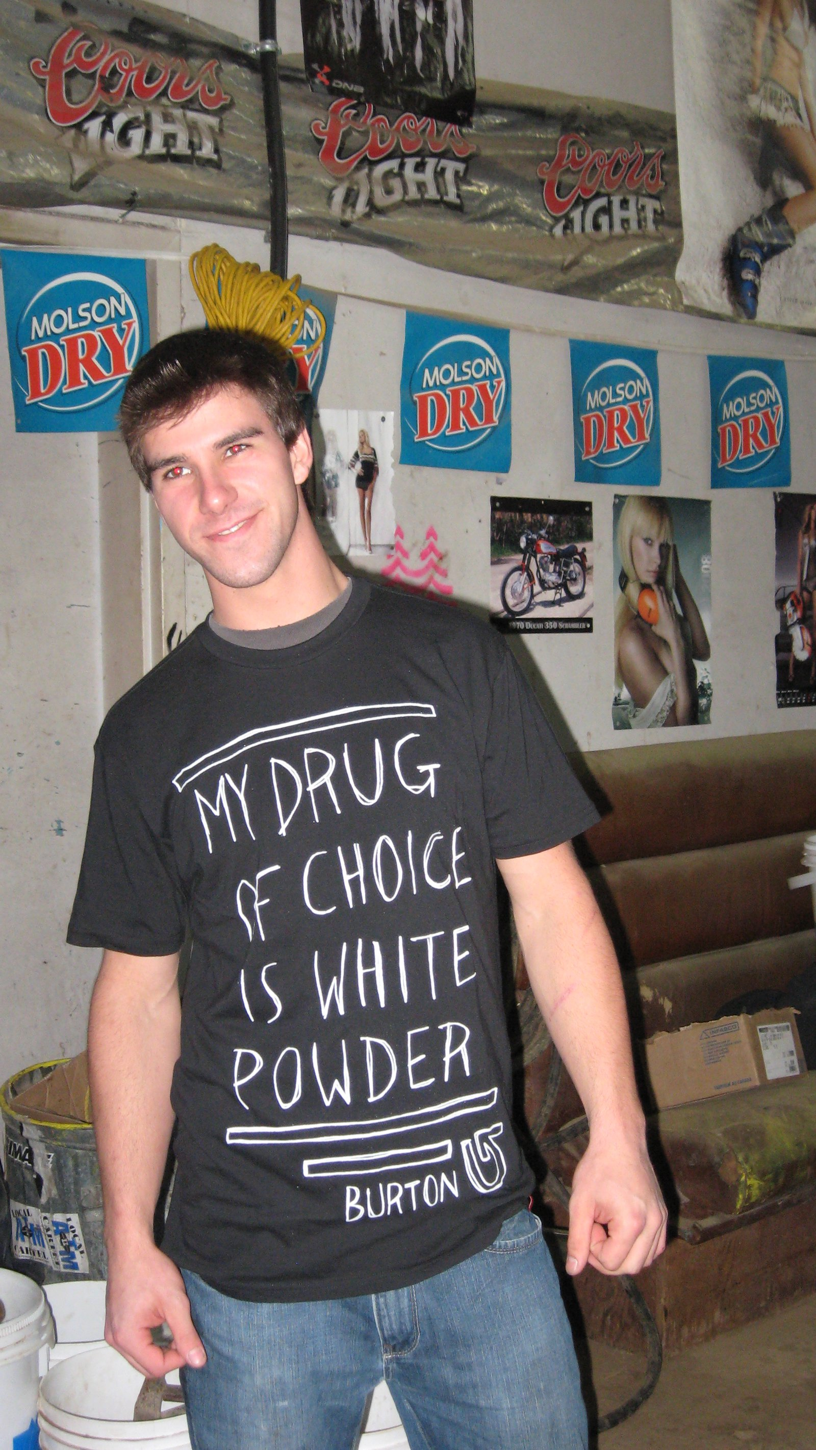 Nice shirt lol