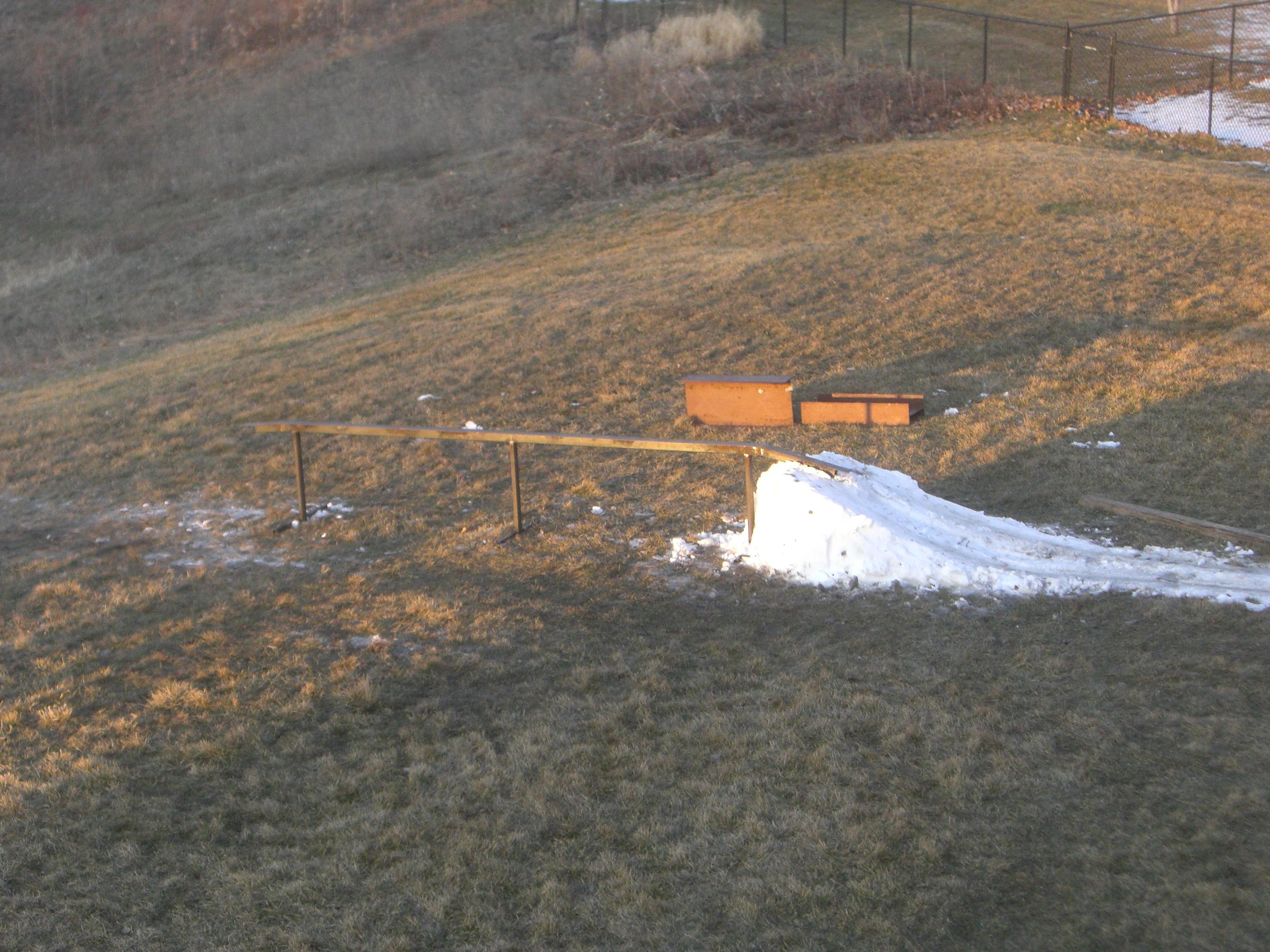 "Backyard 13"" flat rail"
