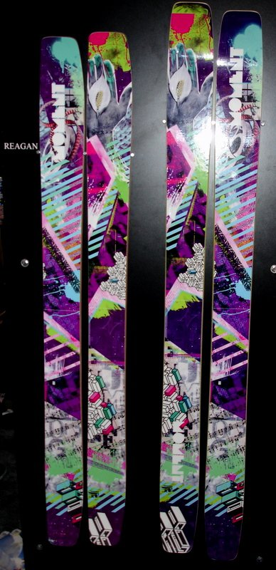 New fat skis