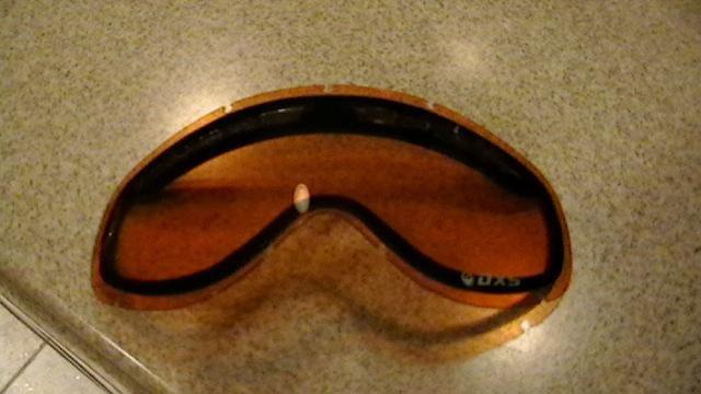 Amber lense
