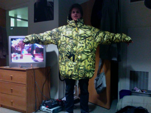 Analog down coat xxl - 1 of 2