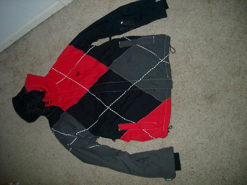Quicksilver jacket- front