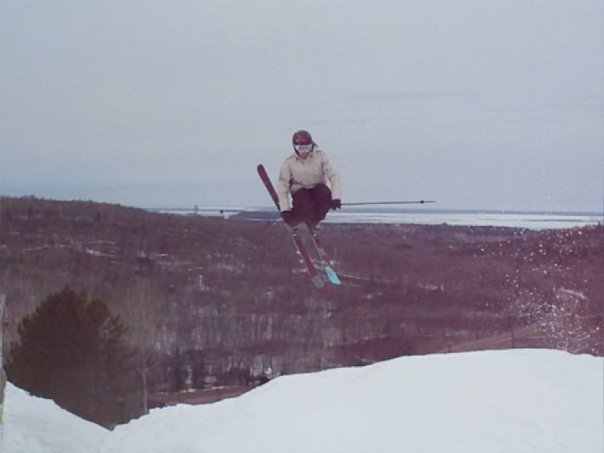 Top of Chute/Snowfield