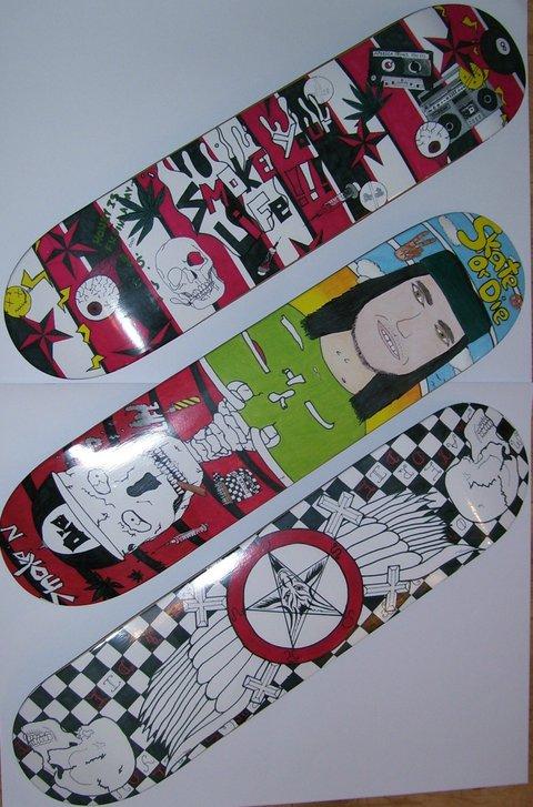 My Skateboard design