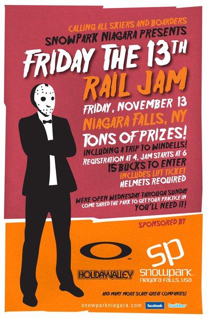 Friday the 13th railjam