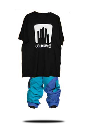 Causwell t and first drop pants