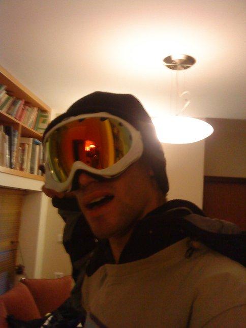 My new goggles