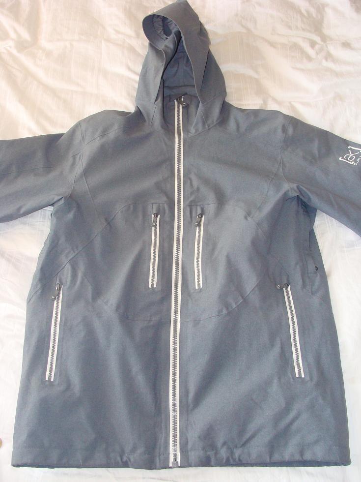 Burton AK Stagger Jacket 08/09 - Goretex, Grey Denim L