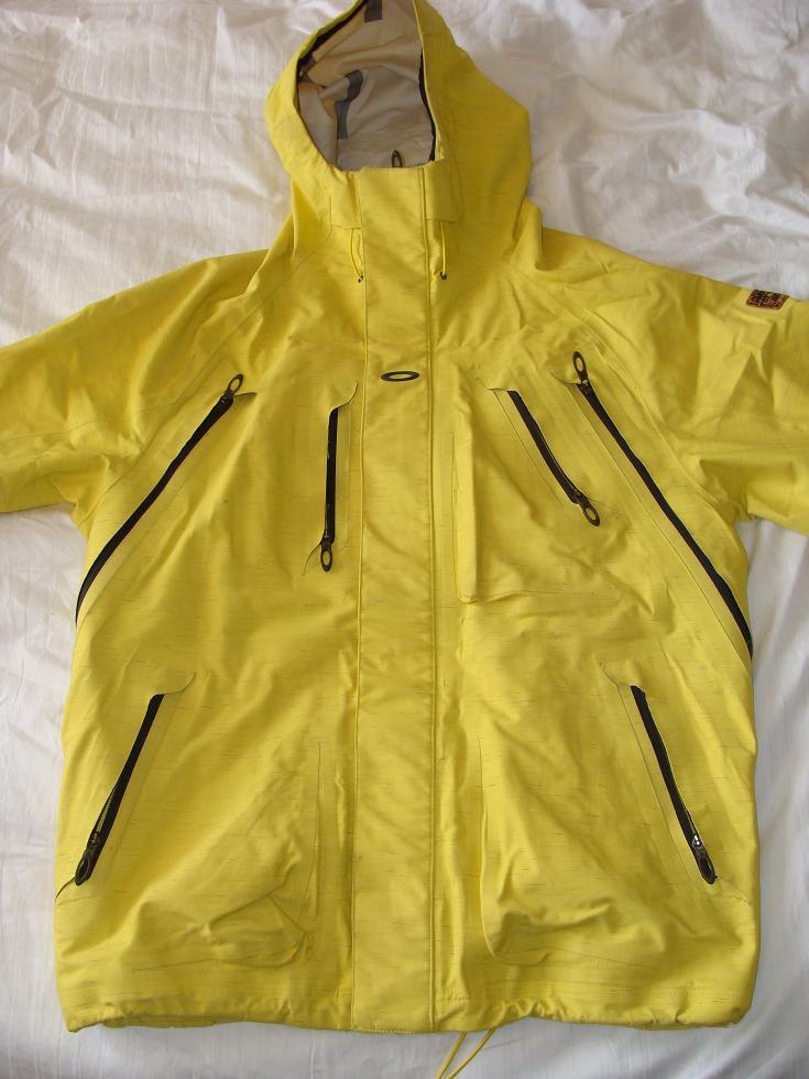 Oakley Mystic Jacket 08/09 - Yellow Size Large