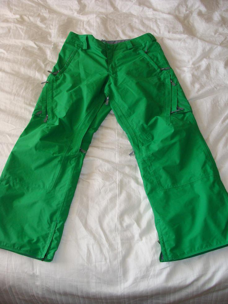 Burton Idiom 2L Pant 08/09 - Green Size Large