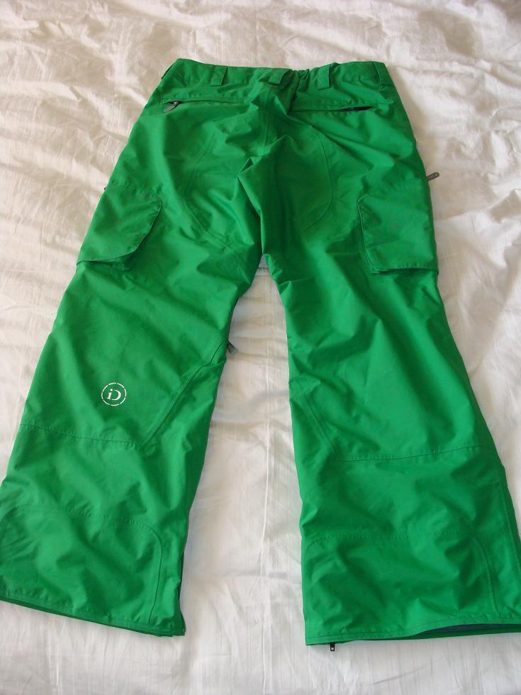 Burton Idiom 2L Pant 08/09 - Green Size Large2