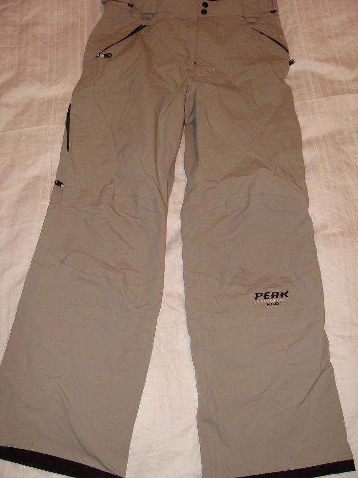 Peak Performance Goretex Softshell Pants 06/07 -Light Grey Large