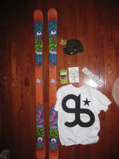 Line Afterbang 177's and goodie pack