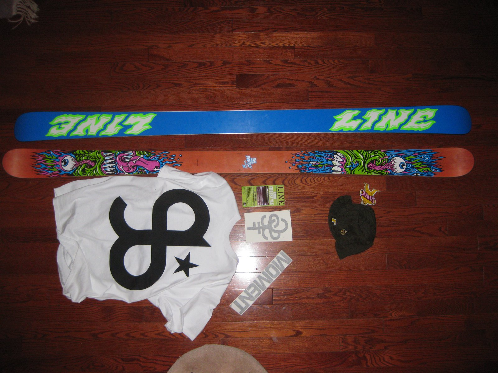 Line Afterbang 177's with goodies