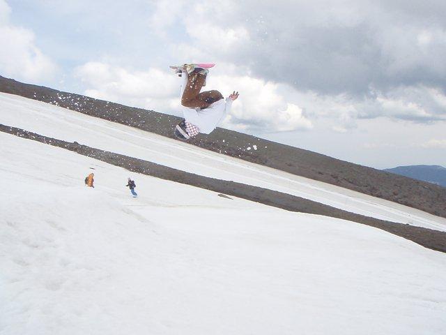 Mt Hood in July