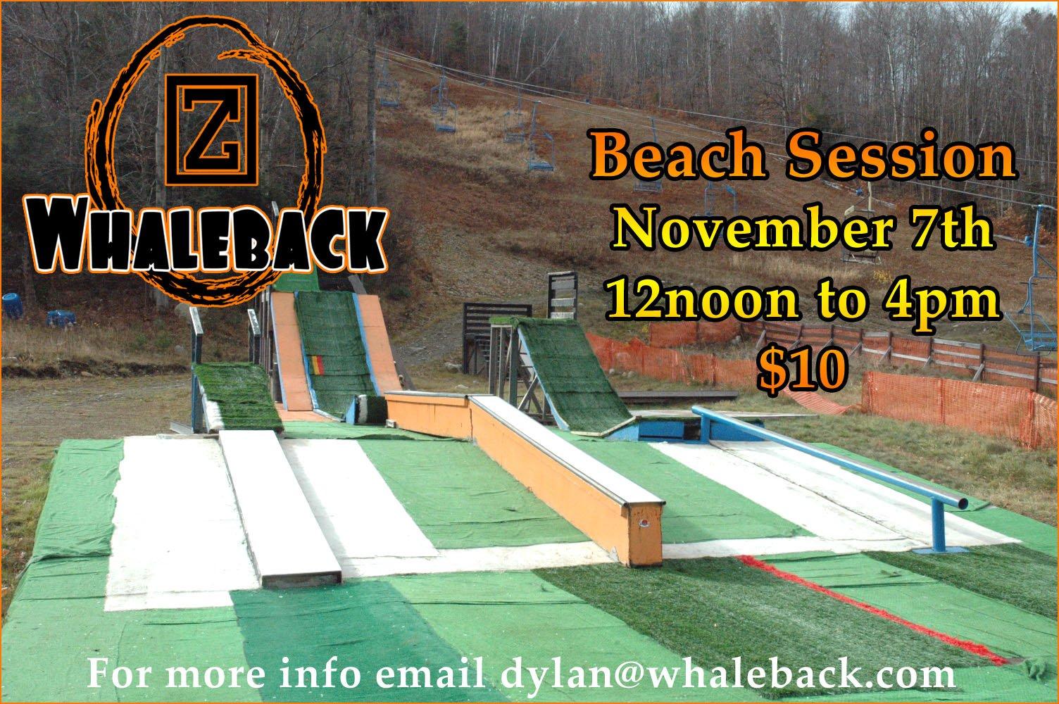November 7th Beach Session