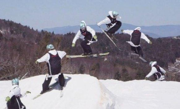 Me Spring Skiing
