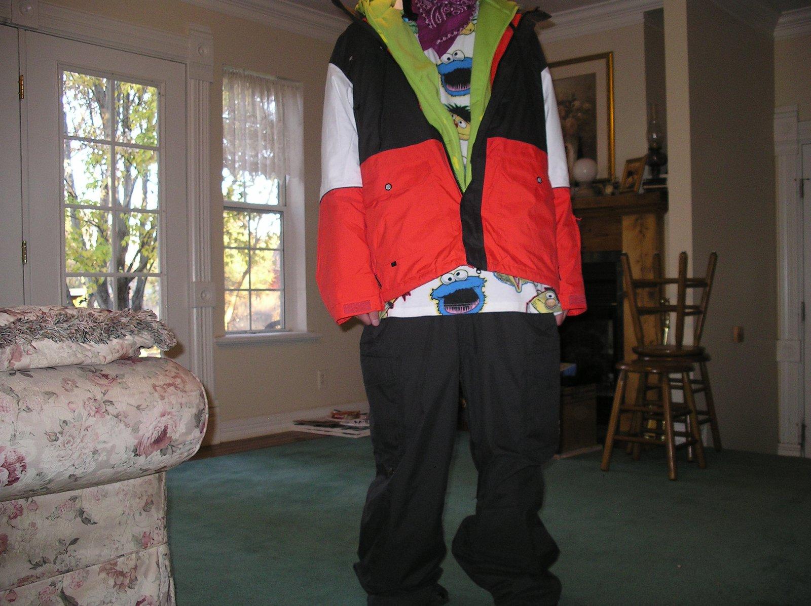 New jacket, helmet and pants