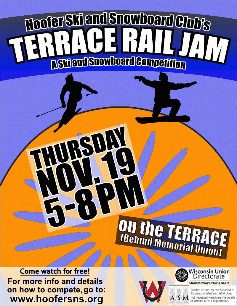 Terrace Rail Jam design