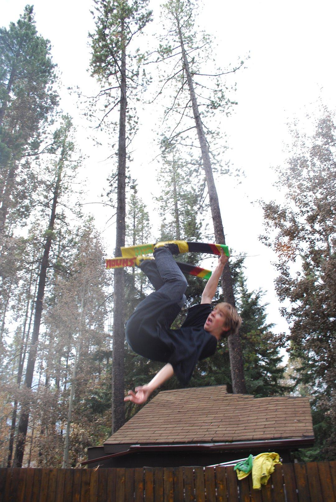 Shmow trampoline skis - 1 of 11