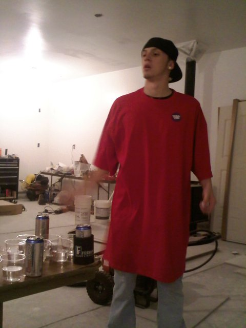 Beer pong and tall tees