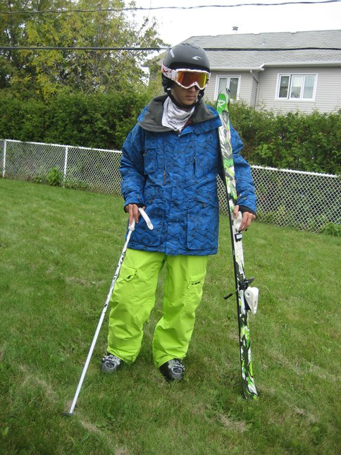 My rossignol s2, 2009 & my whole suit