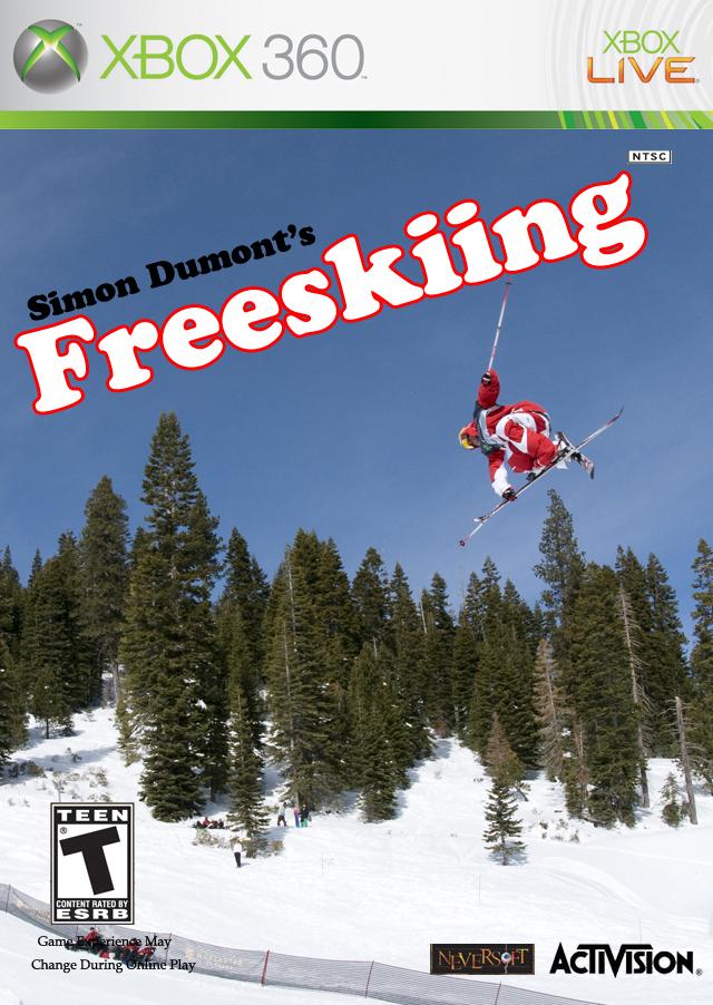 Simon Dumont's Freeskiing