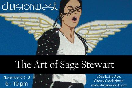 Sage Stewart Gallery Opening