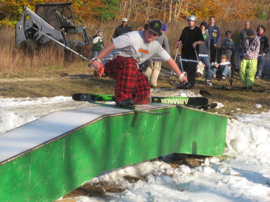 Broken Grind at Blue Hills Rail Jam
