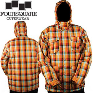 New four square jacket