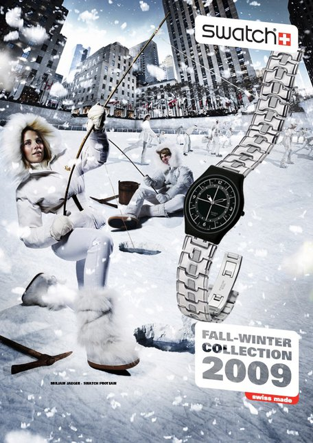Swatch ad 09/10