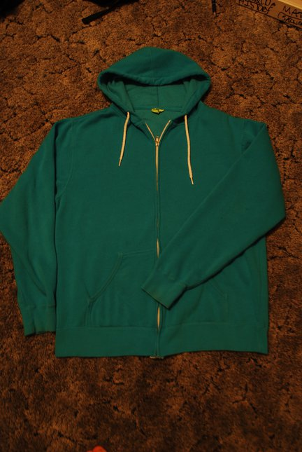 Blue Hoodie for sale