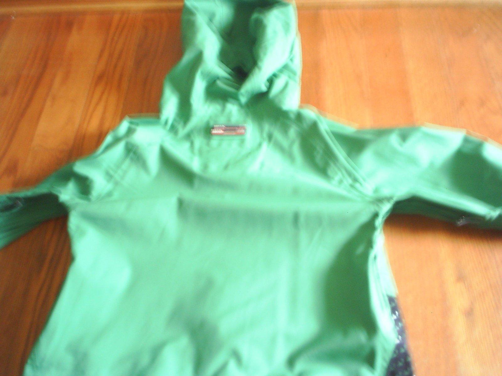 Back side of volcom jacket