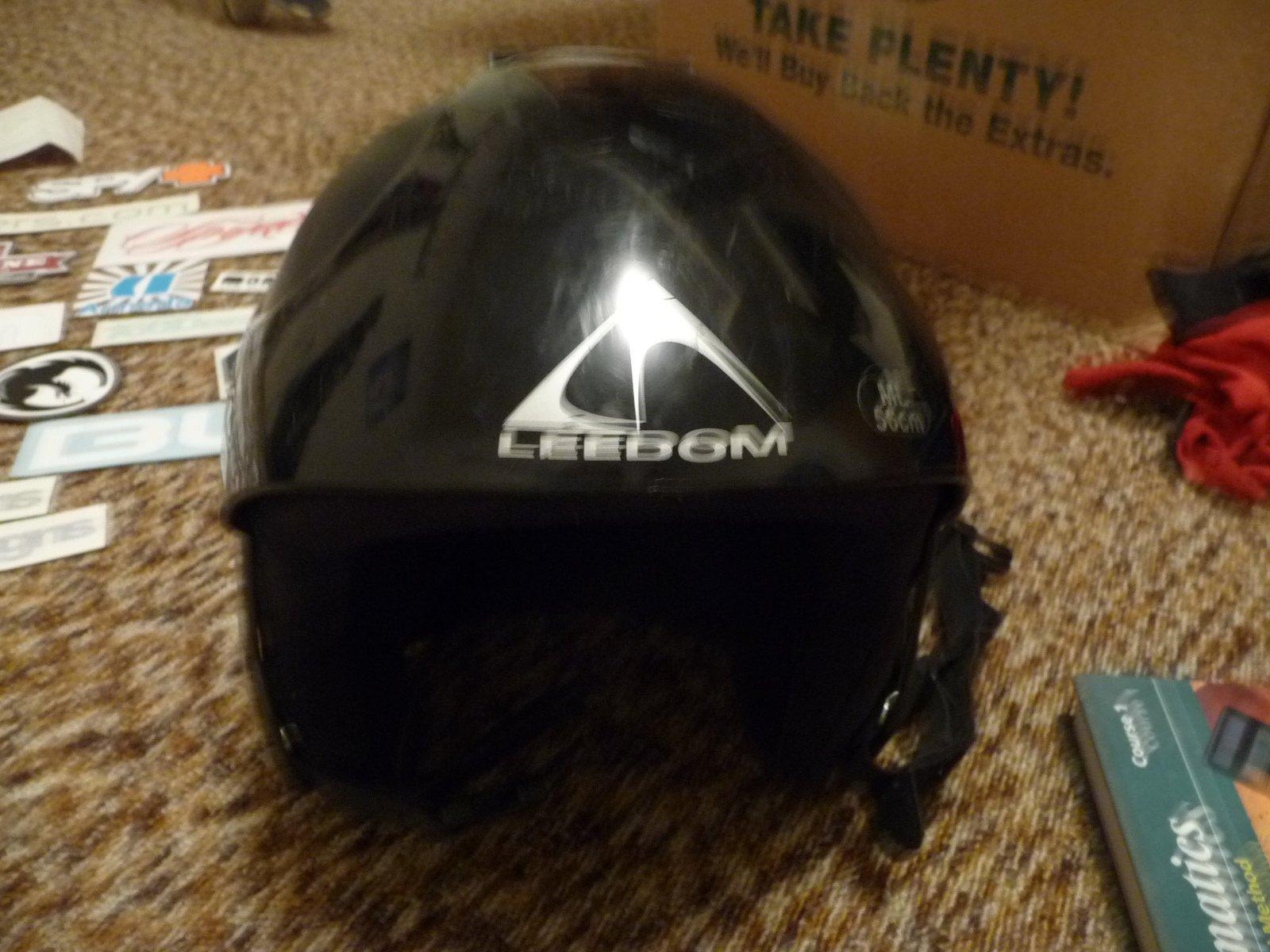 Old leedom helmet