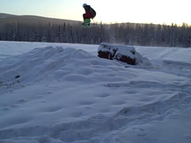 Jump at farm