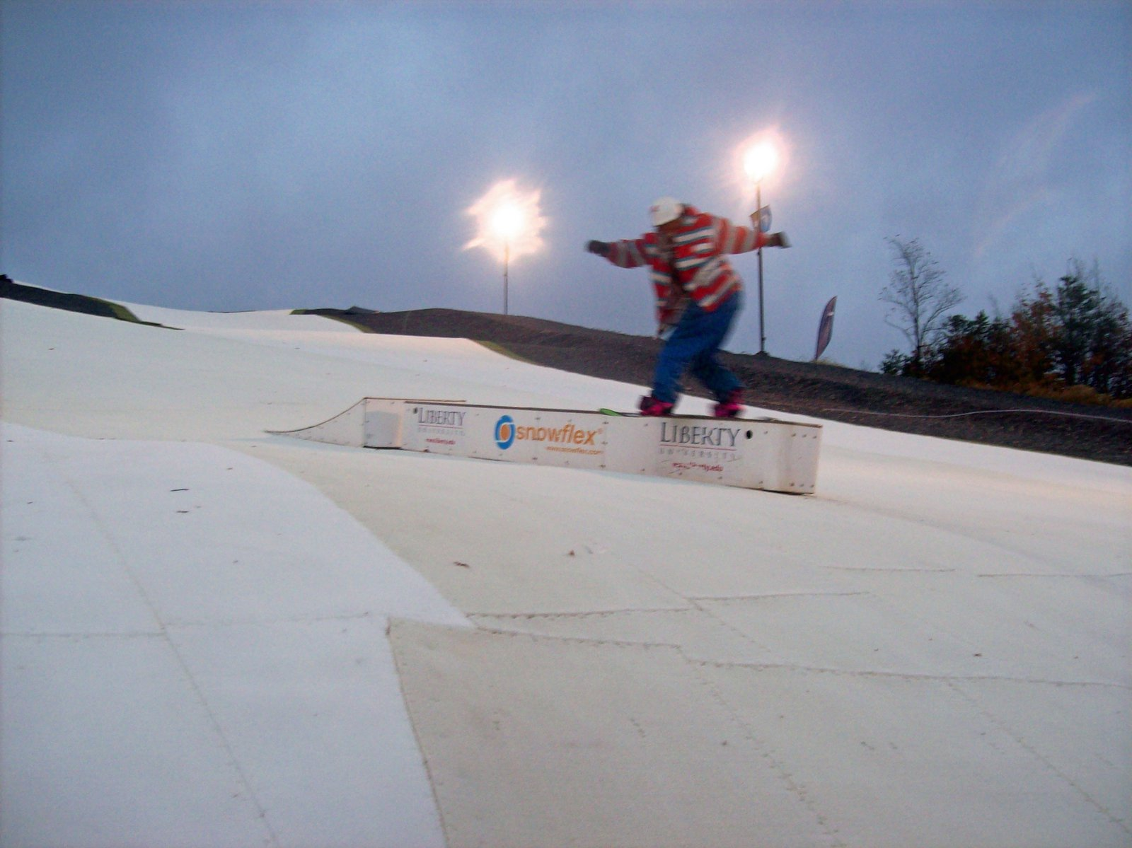 Flat Box snowflex park