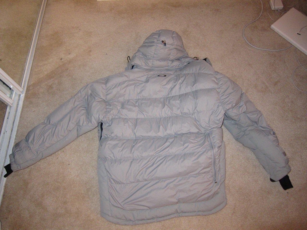O Jacket Back