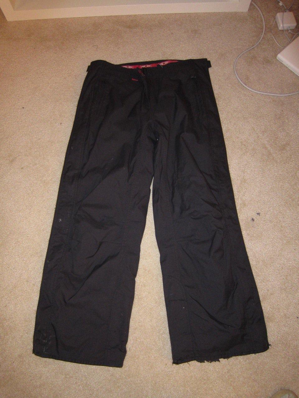 O Pants Front