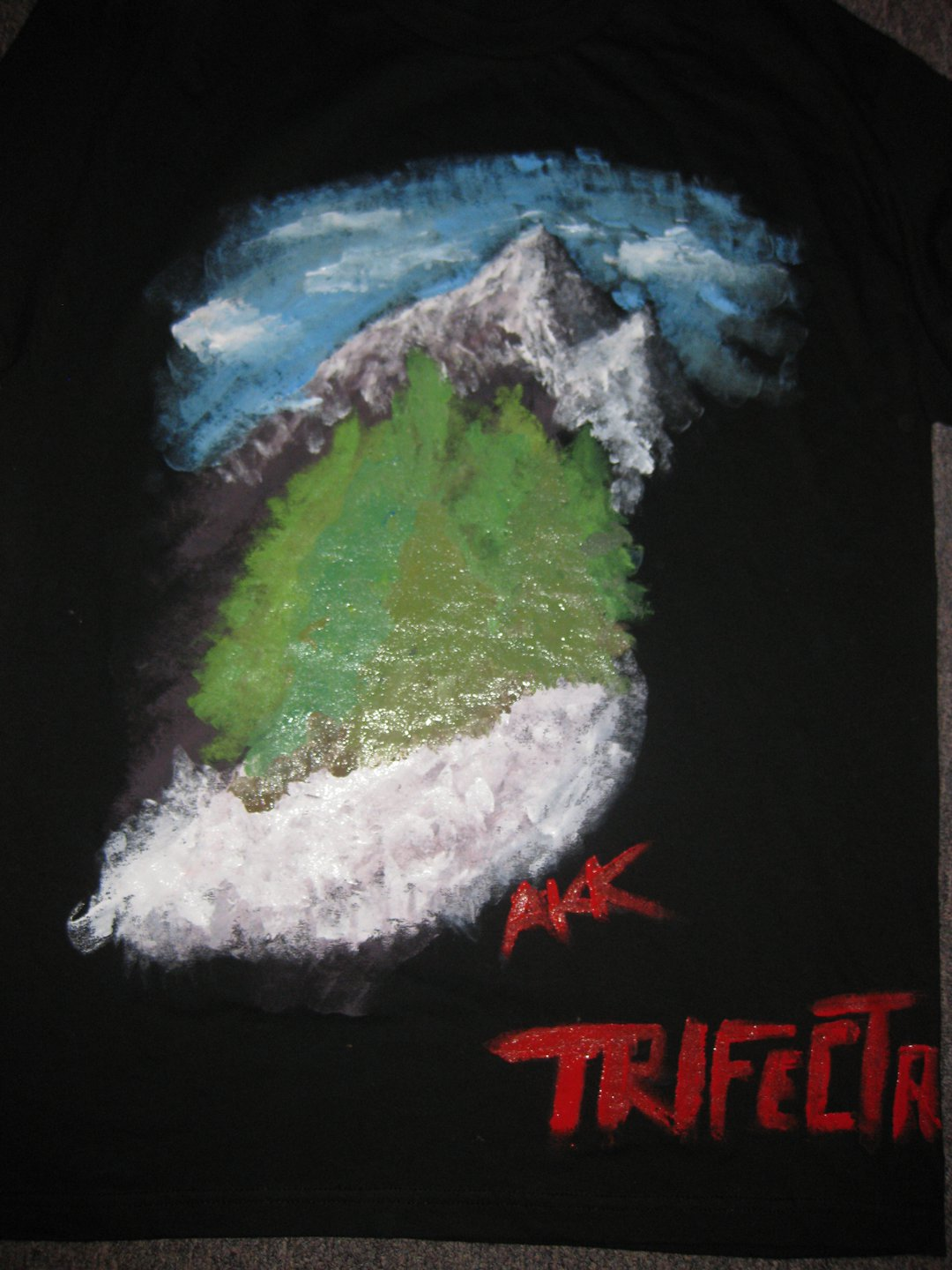 First Painted T