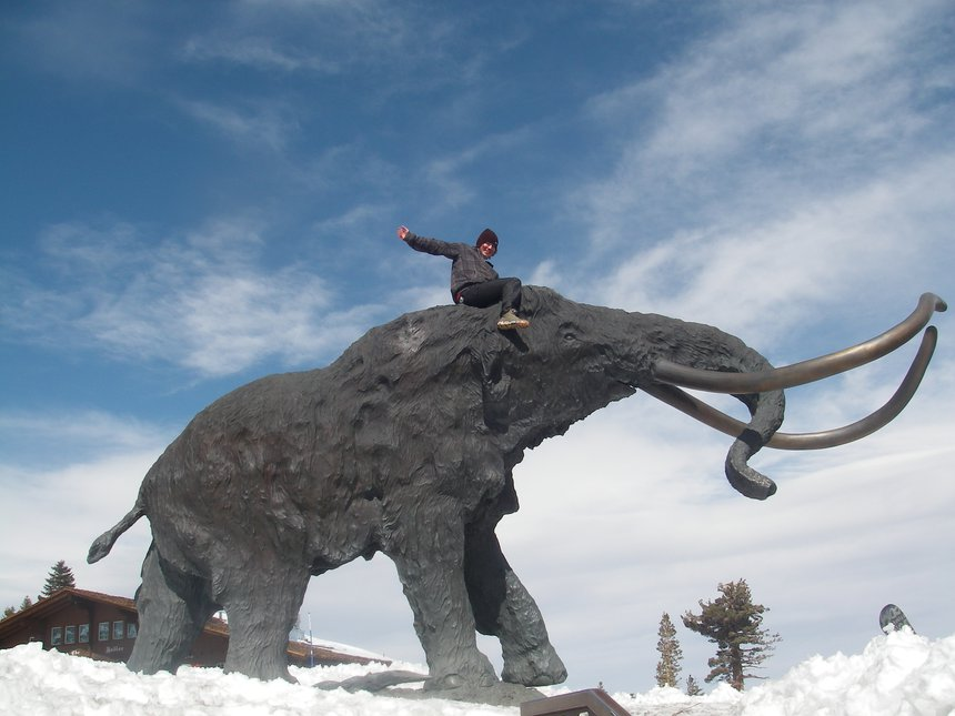 I rode mammoth