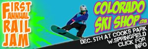 Colorado Ski Shop Rail Jam