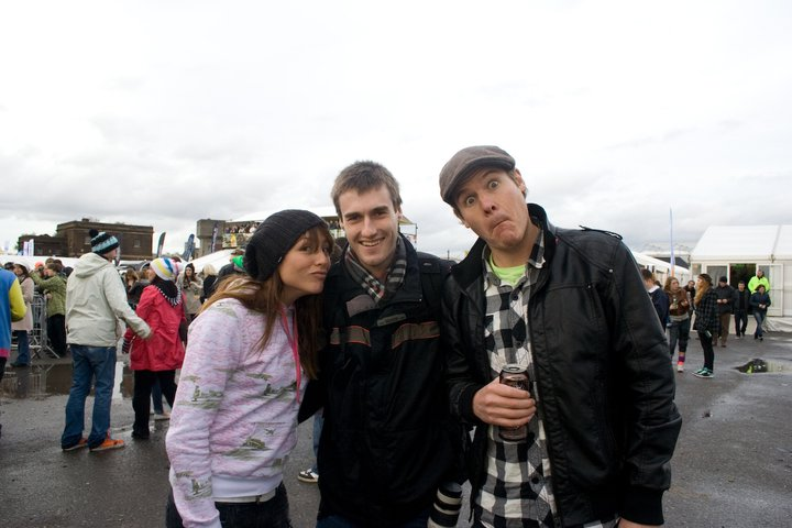 Me with Tim and Jools from Snowfix
