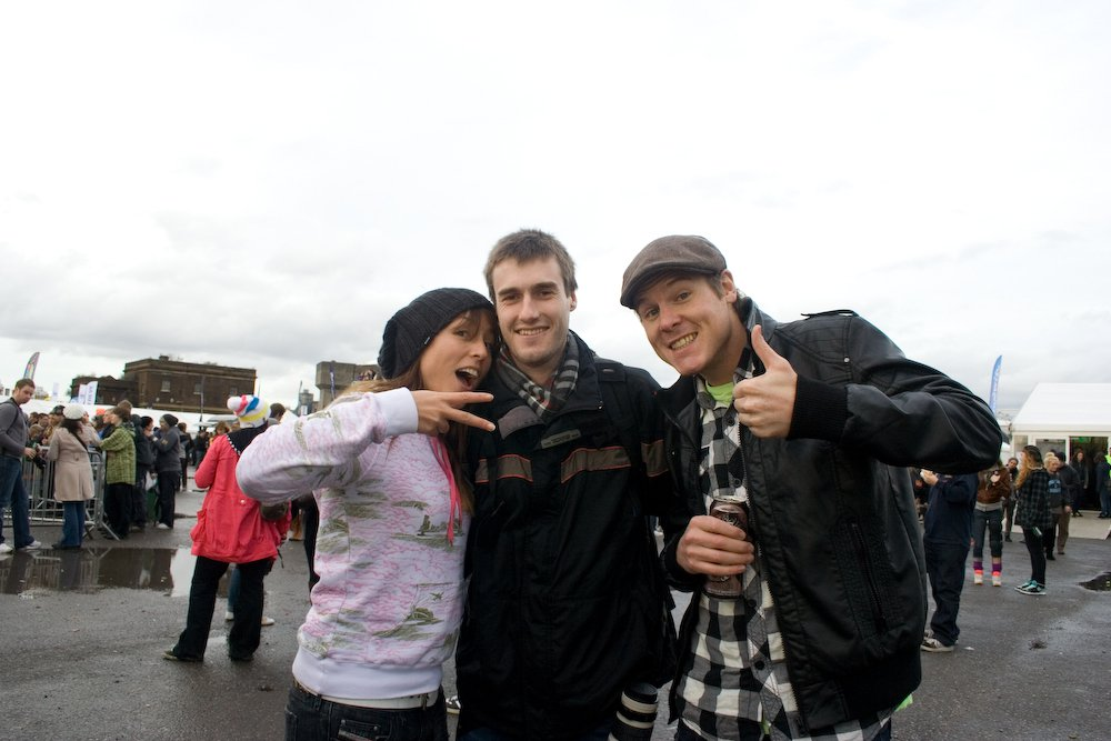 Me with Tim and Jools from Snowfix.tv