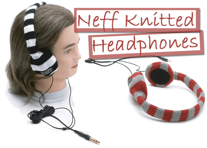 Knitted Head Phones