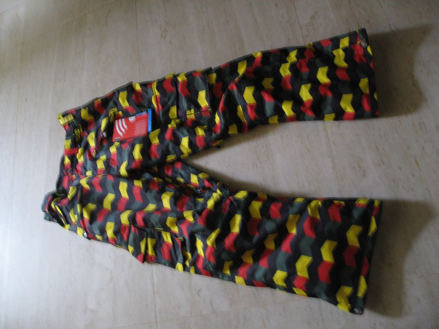Sessions Rasta Zigzag pants
