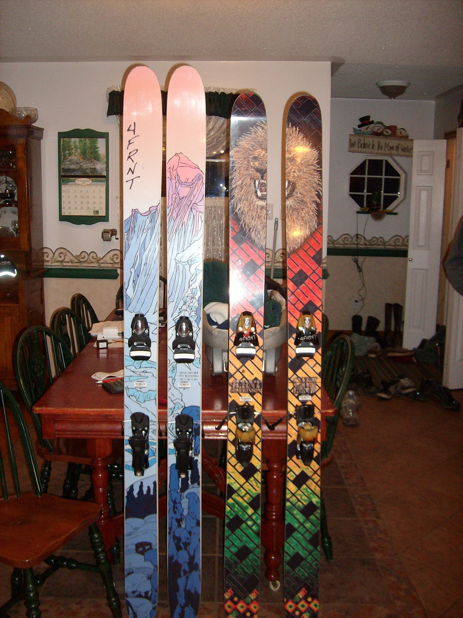 New POW skis