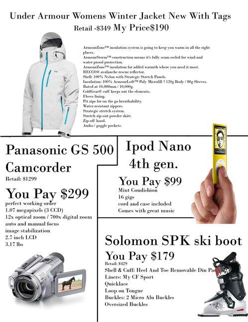 Camcorder jacket boots ipod nano