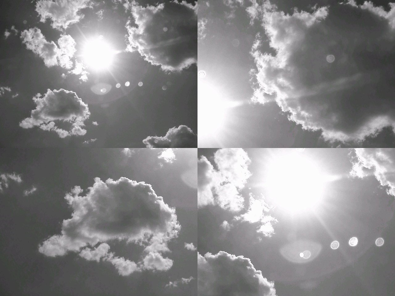 Happy day in the sky